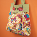 Free Tote Bag Pattern & Cross-Stitch Embroidery Design