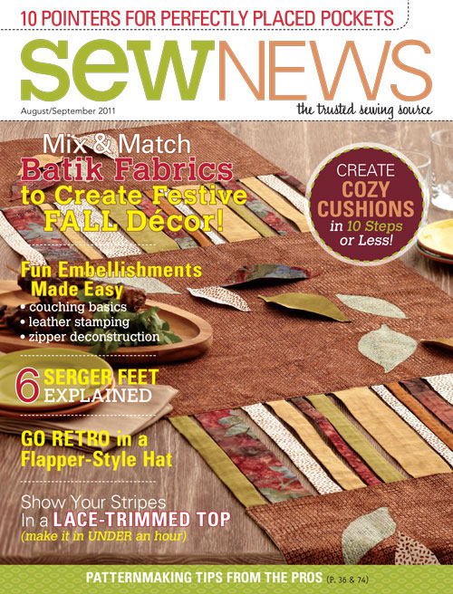 Sew News Timesaving Tips