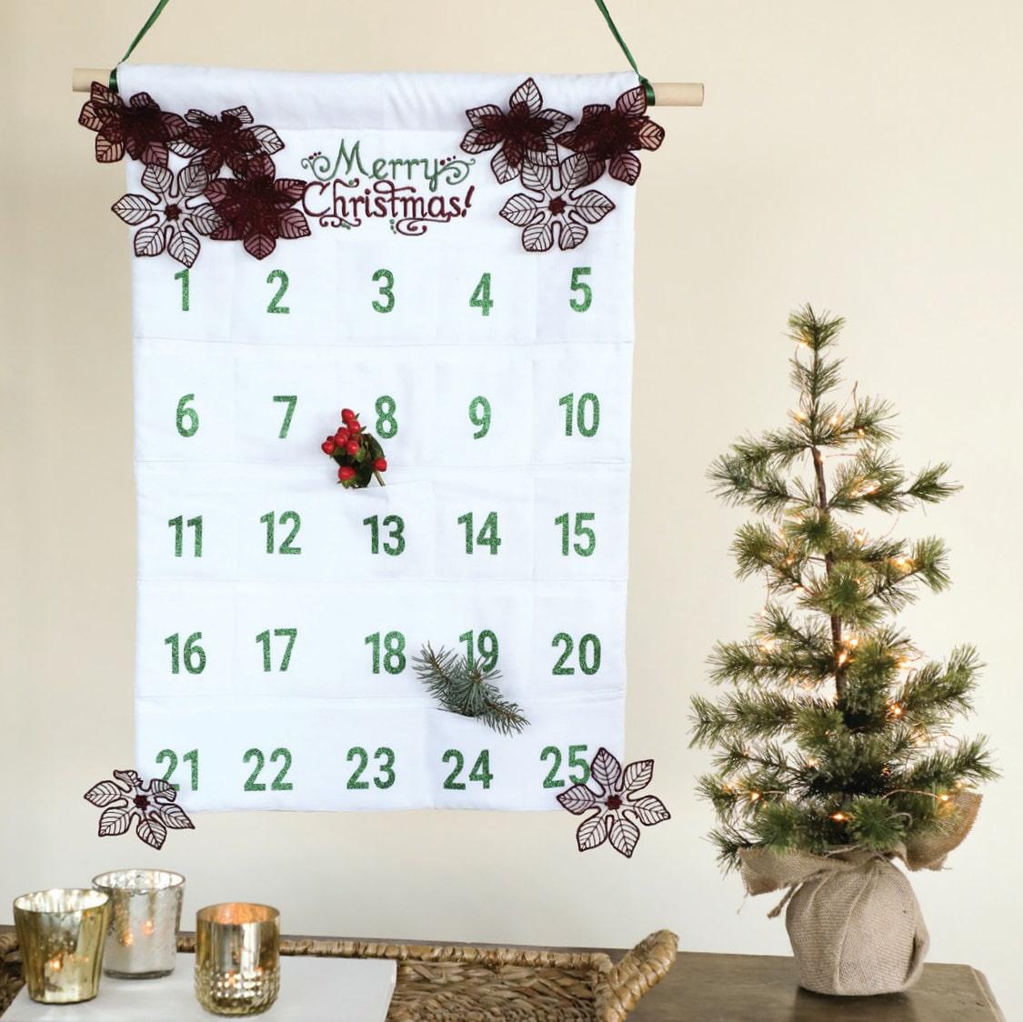 Daily Cheer Calendar Pattern