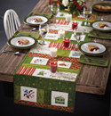 Eat, Drink & Be Merry: Free Table Runner Project