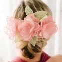 Floral Lace Headpiece
