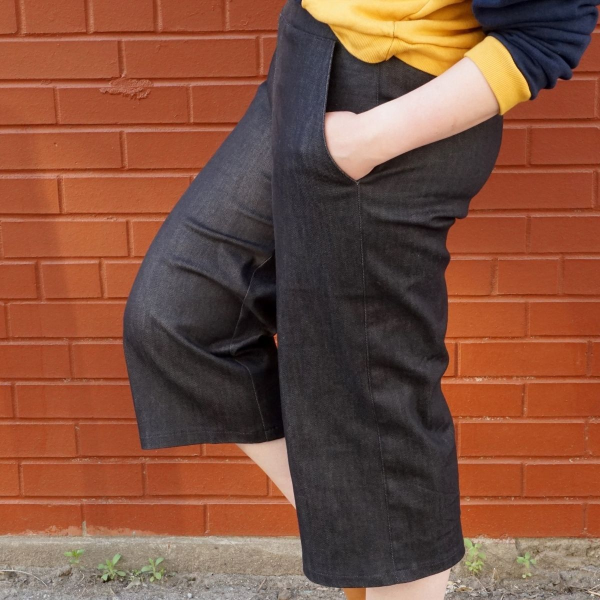 Meg's Pagosa Pants with set-in pockets