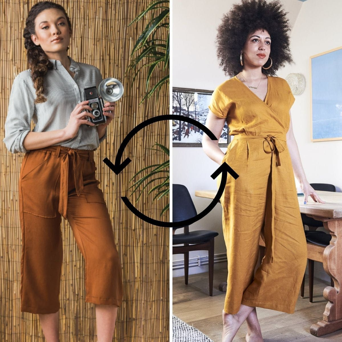 The Pagosa Pants and the Zadie Jumpsuit