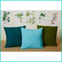 Linen Pillows With Free Templates