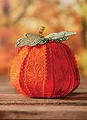 Freestanding Lace Pumpkin