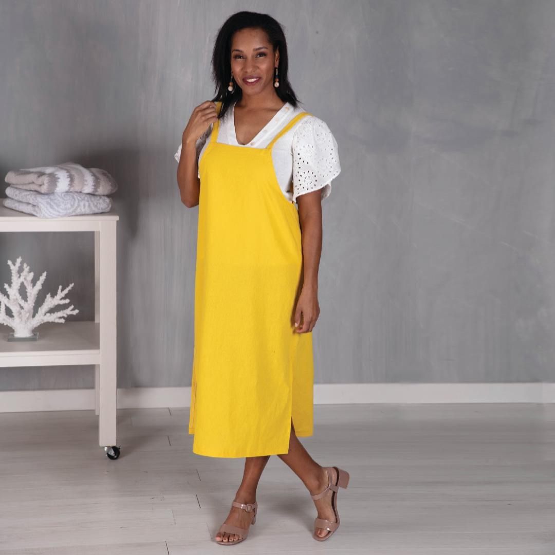 Paonia Pinafore Dress Pattern
