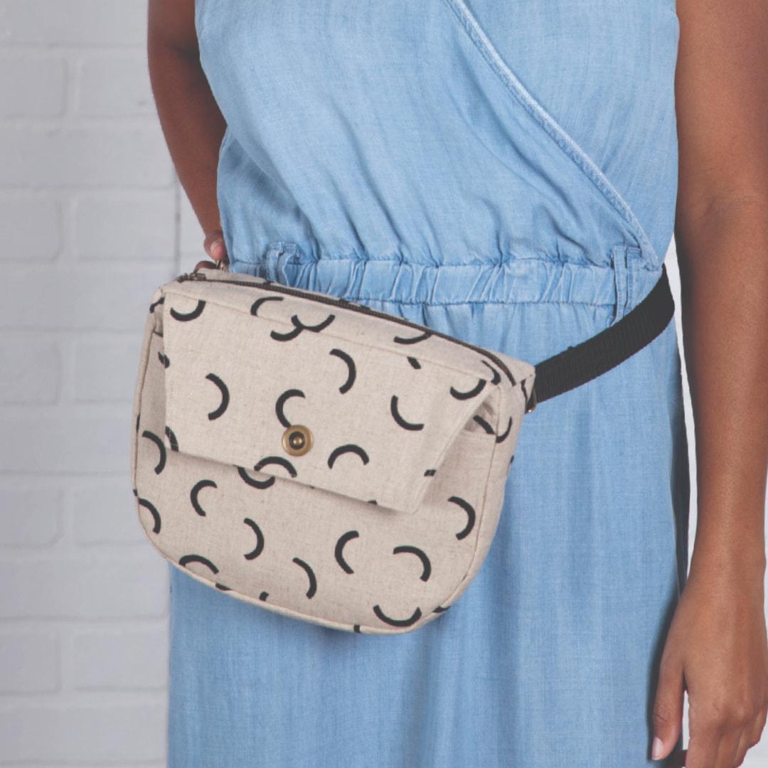 Meander Belt Bag Pattern