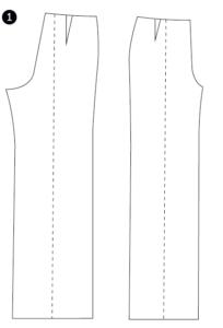 Summer Pant Sewing Pattern Hack