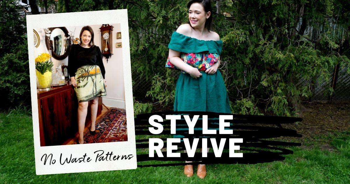 Style Revive Header - No Waste Patterns