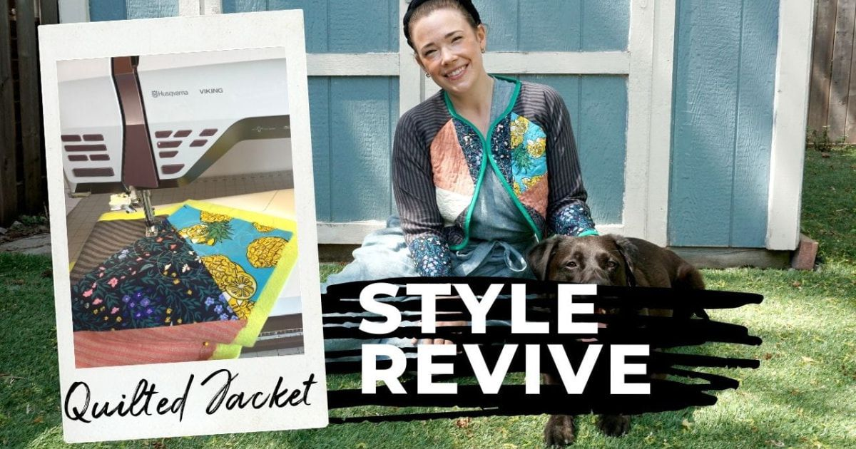 Style Revive Quilted Jacket Header