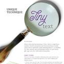 Tiny Text Correction