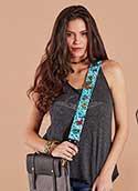 Embroidered Designer Bag Strap