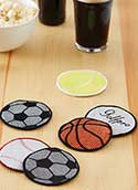 Machine Embroidery Coasters
