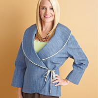 Sew a Jacket with Piping