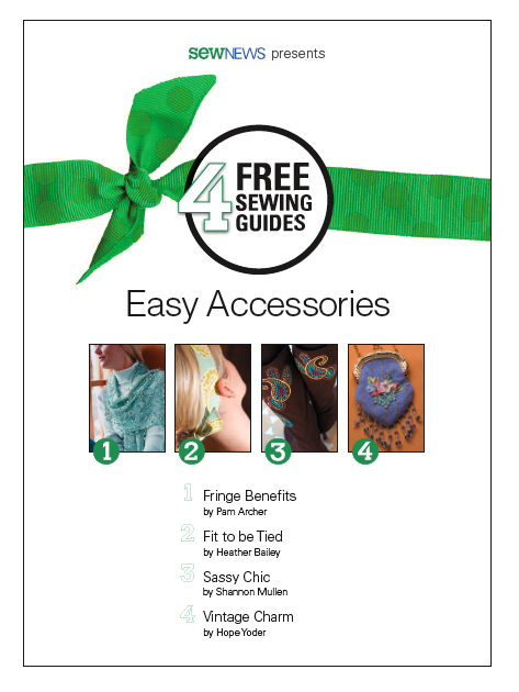 Free Easy Accessory Sewing Patterns