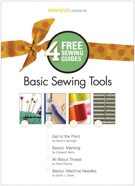 Basic Sewing Tools Free eBook