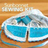 Free Sunbonnet Sewing Kit