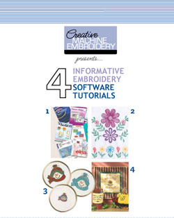 A Free Embroidery Software Tutorial eBook