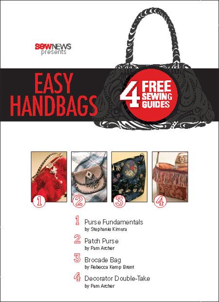 4 Easy Handbags to Sew
