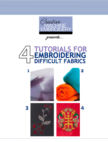 Tutorials for Embroidering on Difficult Fabric