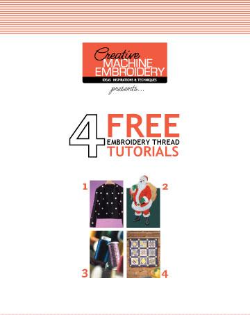 free embroidery thread techniques e-book