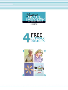 4 Free Cutwork Projects
