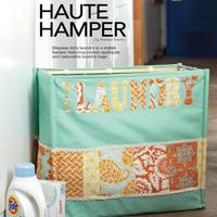 Haute Hamper: Free Applique Templates