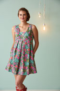 Cute Summer Dress Sewing Pattern