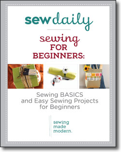 Download your free Sewing for beginners eBook now!