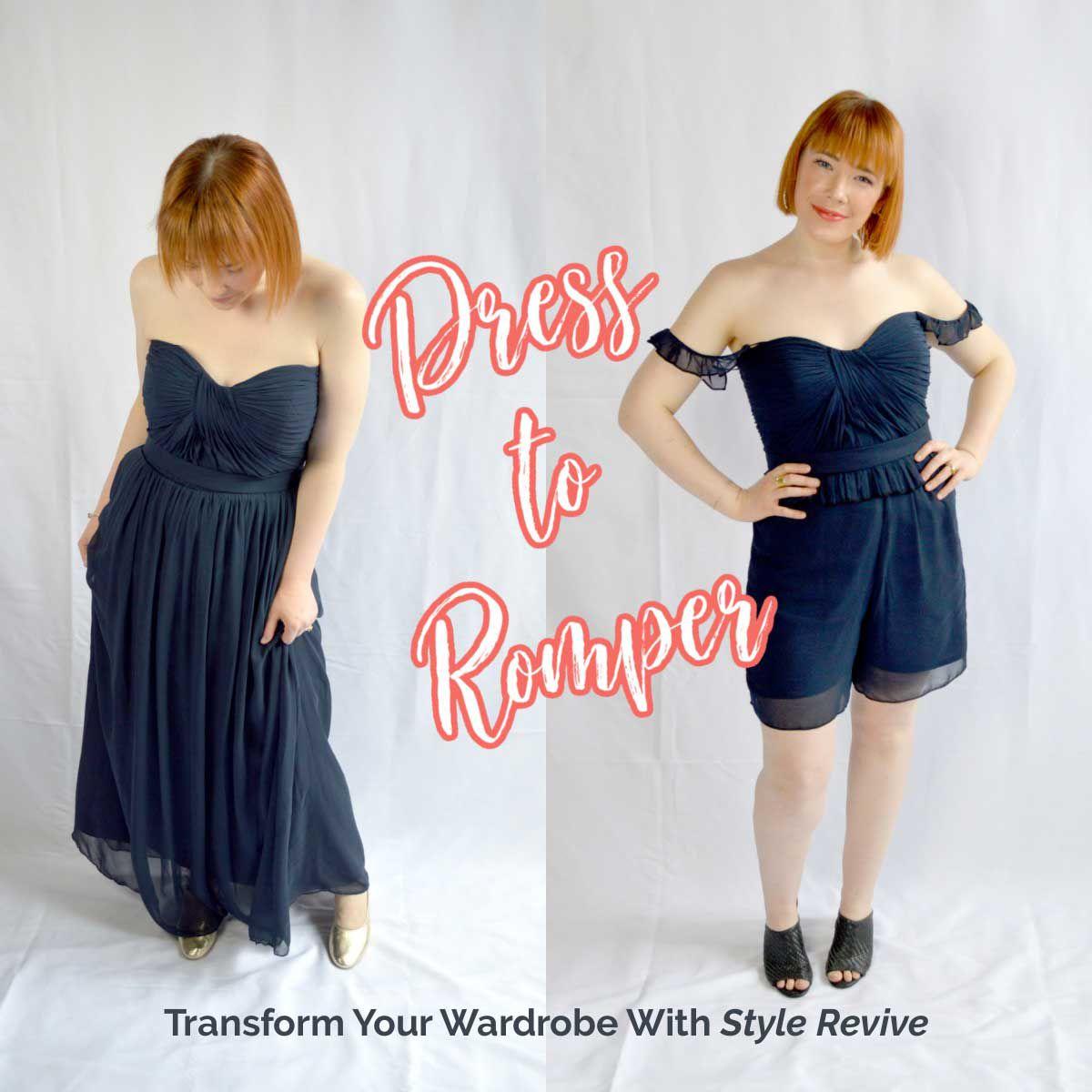 Style Revive Season 1 - Episode 1 Dress to Romper
