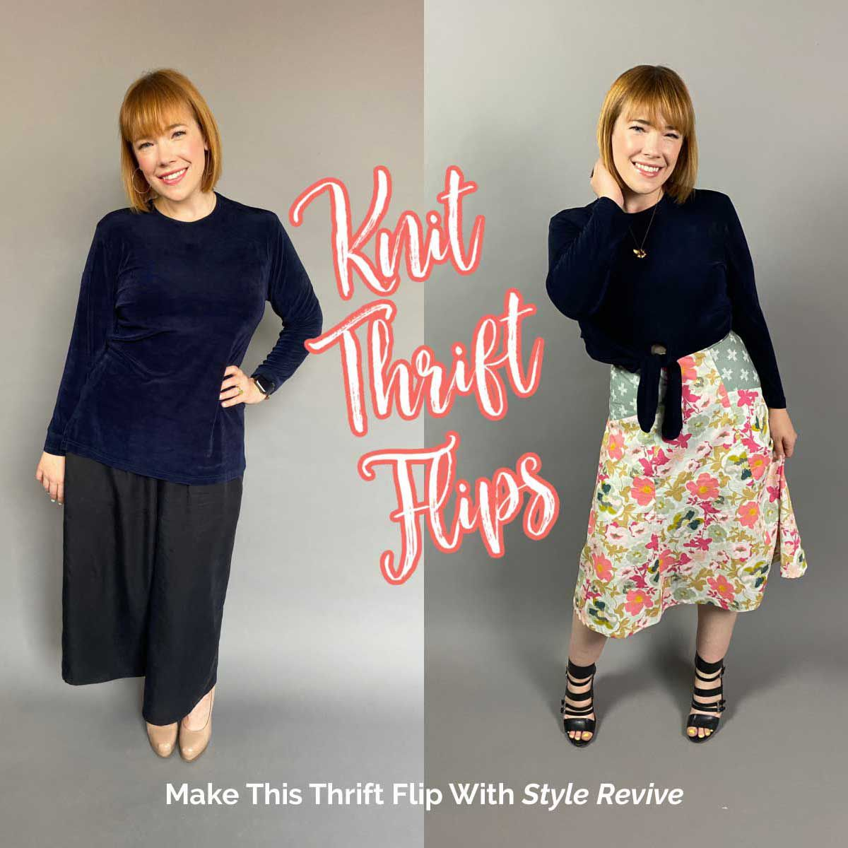 Thrift Flip Knits to Cute Wearables with this episode of Style Revive