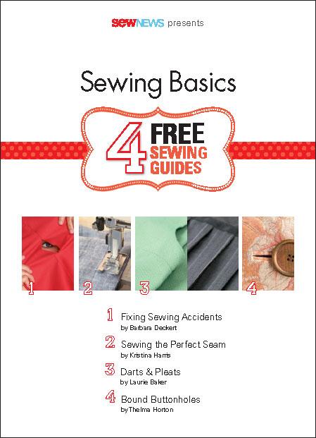 Sewing Basics Free eBook