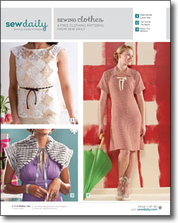 3 Free Sewing Patterns for Clothes