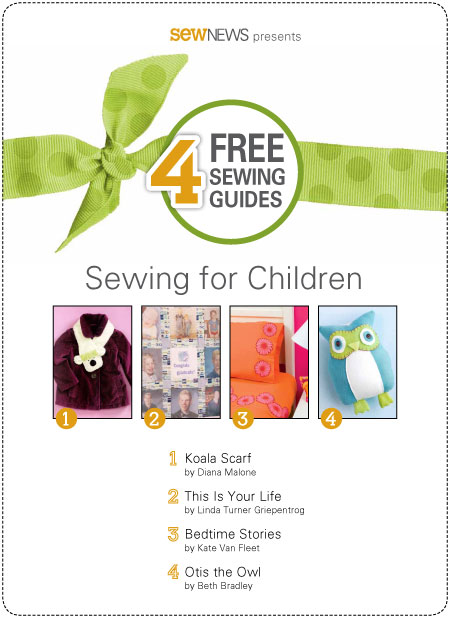 4 Free Sewing Guides for Sewing for Children