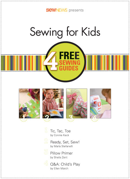 Sewing For Kids - Free eBook + Project Ideas