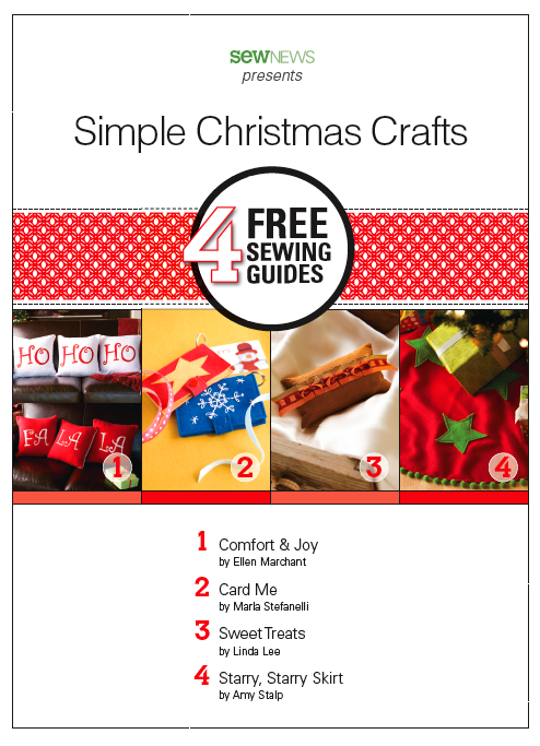 Free Simple Christmas Sewing and Craft Ideas