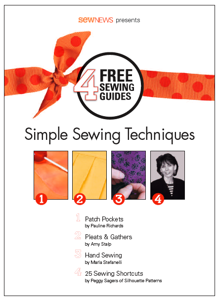 Simple Sewing Techniques Free eBook
