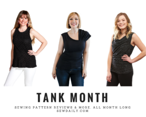 Tank top sewing pattern review
