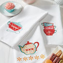 Tea Time Embroidery Collection