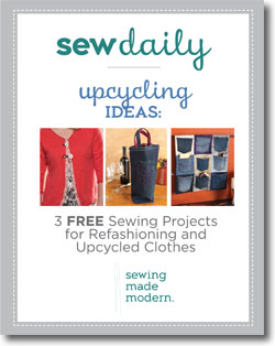 3 Free Projects for Refashioning and Upcycling