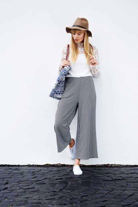 Styling Ideas for Wide-Leg Crop Pants: Patterns and Inspiration | Sew Daily