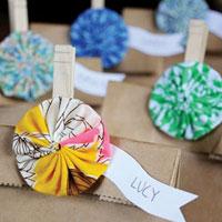 Yo-Yo Bag Clip: Free Sewing Project